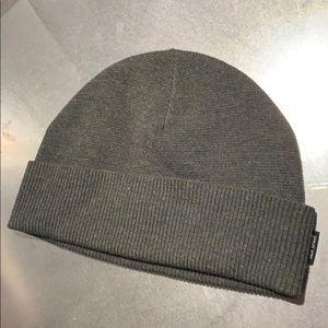 Jack Spade men's beanie wool hat cap Olive